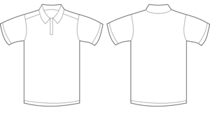 Polo Shirt White Clip Art