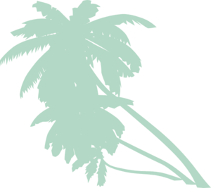 Palm Faded Clip Art