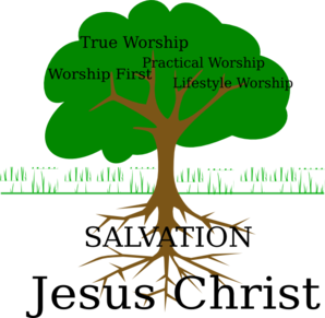 Worship Tree Clip Art