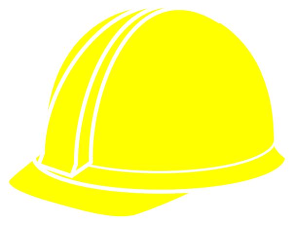yellow hard hat clipart - photo #5