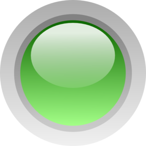 Tiny Green Led Button Clip Art