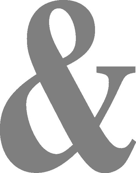 Ampersand Clip Art At Clker Com Vector Clip Art Online
