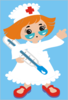 Nurse Temp Hot Clip Art