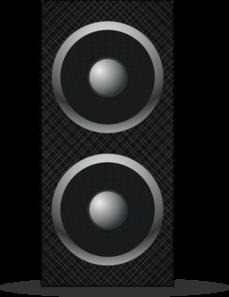 Speaker Clip Art at Cl...