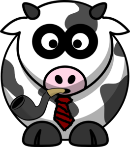 Father Cow Clip Art