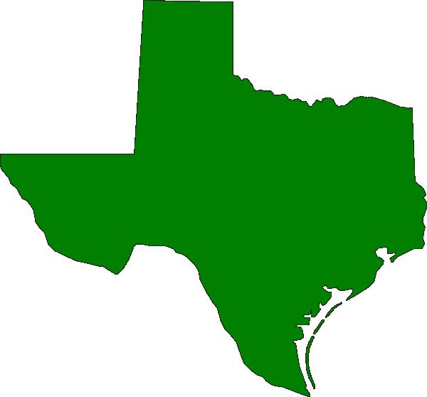 Green Texas State Clip Art at Clker.com - vector clip art online ...