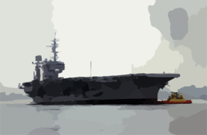 The Decommissioned Aircraft Carrier Uss Constellation (cv 64) Begins Its Transit From Naval Air Station North Island To Puget Sound Naval Shipyard Clip Art