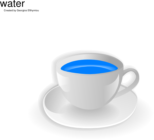 cup of water clipart - photo #5