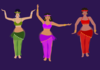 Belly Dancers Clip Art