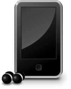 Mp3 Audio Player 2 Clip Art