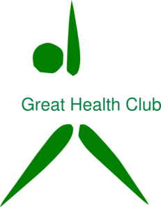 Great Health Club Logo Clip Art