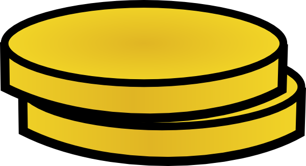 Two Gold Coins Clip Art At Clker.com