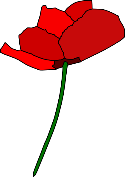 Poppy Flower Clip Art at Clker.com - vector clip art ...