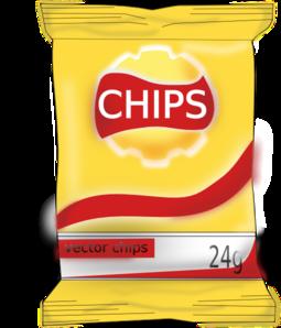 Bag Of Chips Clip Art at Clker.com - vector clip art online, royalty ...