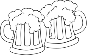 Beertjes Me To You as well New Years Clipart as well Beer Stein Clipart Black And White also Pineapple Black And White Clipart further Birthday Shots. on birthday cheers