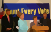 Count Every Vote Vector Clip Art