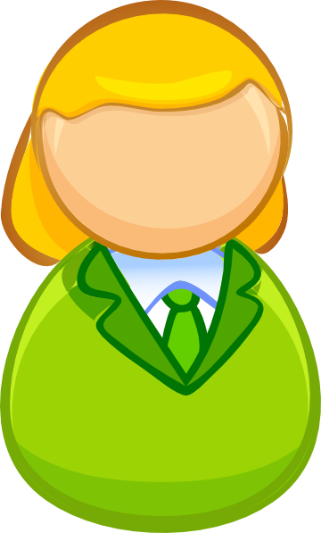 Business People Clipart Female