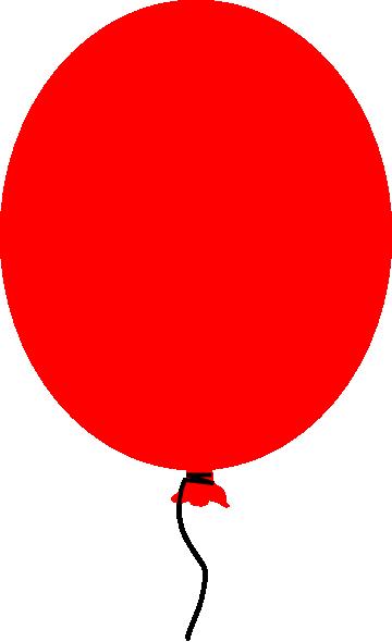 Red Balloon Clip Art at Clker.com - vector clip art online, royalty ...