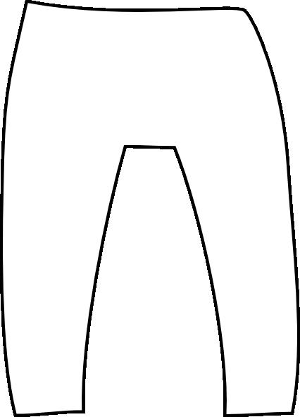 white pants clip art at clker com