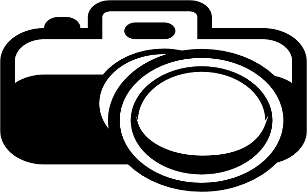 camera blue logo clip art at clkercom vector clip art