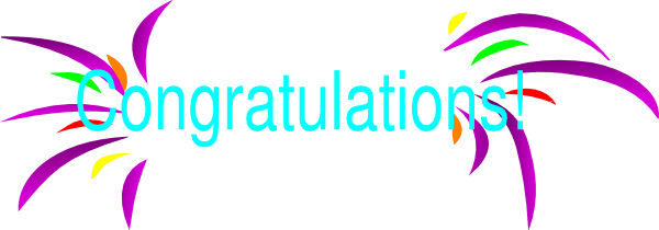 Congratulations Clip Art Vector Online Royalty Free