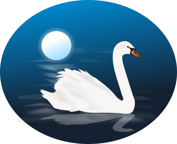 Swan 4 Clip Art at Clker.com - vector clip art online ...