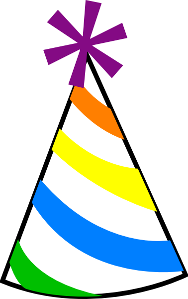 Birthday Hat Clip Art At Clker Com Vector Clip Art