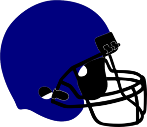Football Helmet Black Grill Clip Art