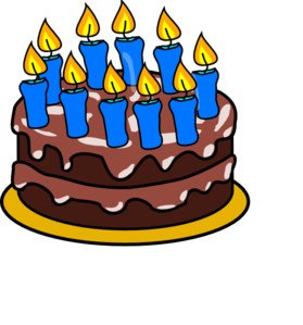 Birthday Cake  on 10th Birthday Cake Clip Art   Vector Clip Art Online  Royalty Free