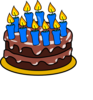 10th Birthday Cake Clip Art