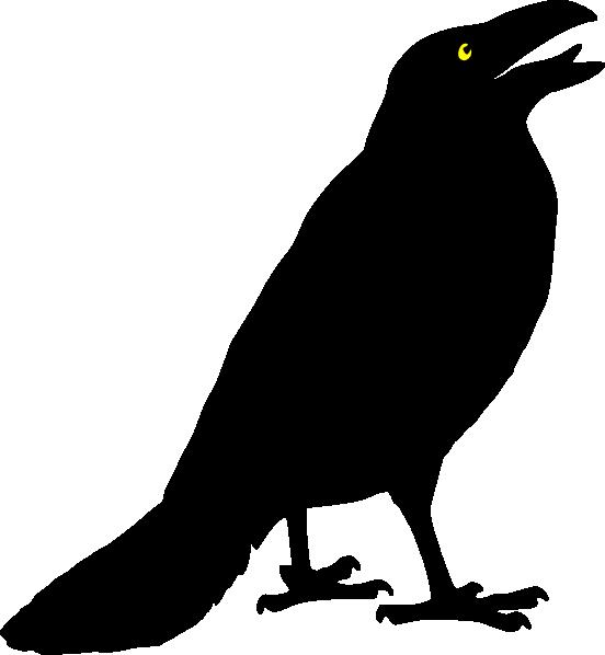 crow clip art at clkercom vector clip art online