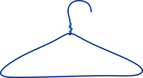 Shirt On Hanger Clipart