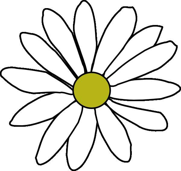 Simple Daisy Clip Art at Clker.com - vector clip art ...
