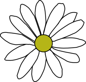 Simple Daisy Clip Art