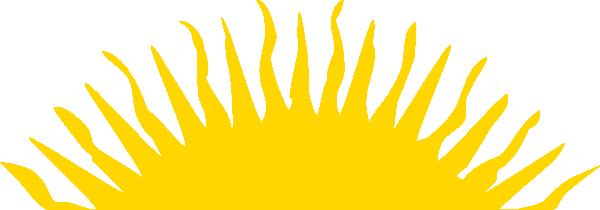british columbia sun canada clip art at clkercom vector
