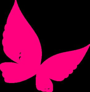 butterfly pink clip art at clker com vector clip art online rh clker com pink butterfly clipart free pink and black butterfly clipart