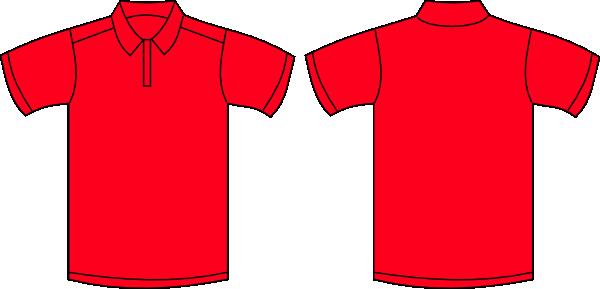 red polo shirt clip art at clker com vector clip art online rh clker com  free clipart polo shirt