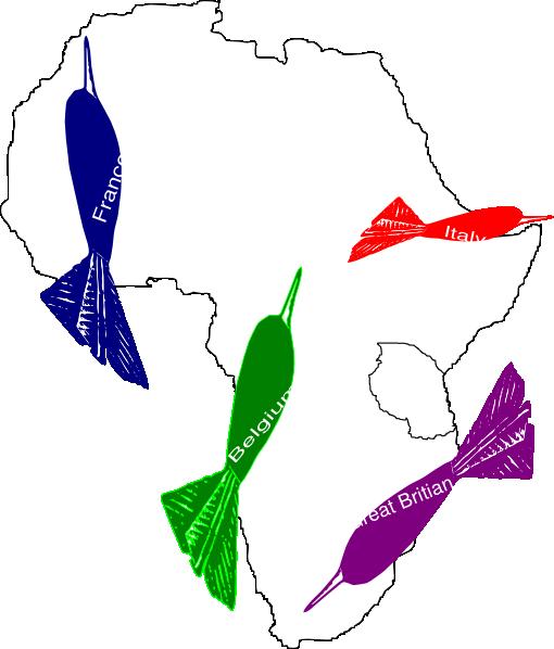 Africa Imperialism Map Clip Art at Clker.com - vector clip ...