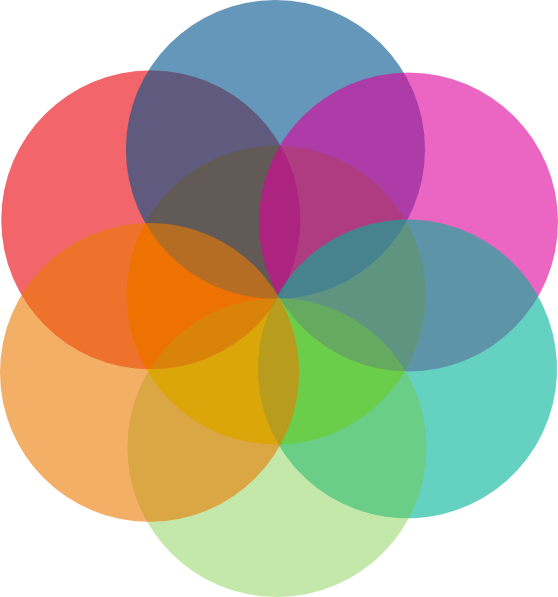 colorful circle vector graphic - photo #40