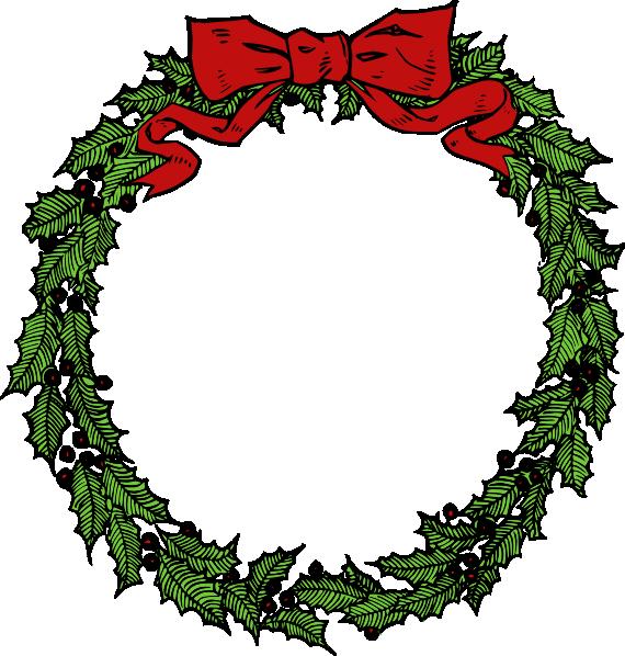 wreath clip art at clker com vector clip art online christmas wreath clipart png free christmas wreath clip art pinterest