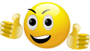 Smiley Thumbs Up Clip Art