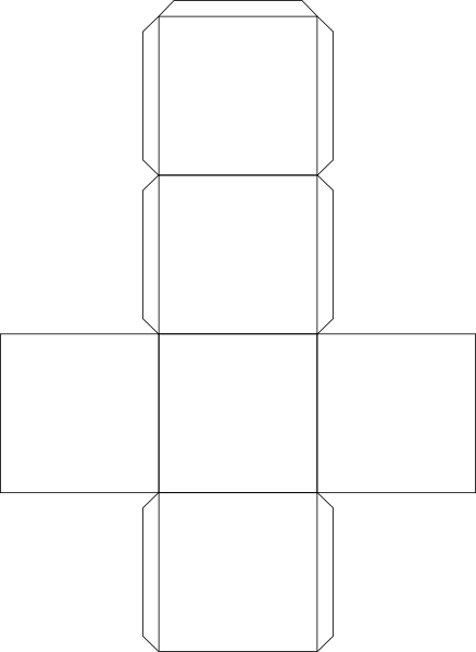 paper cube Printable cube pattern or template by amanda post @ math share/bookmark printable writing paper, patterns, and border paper face template more printables.