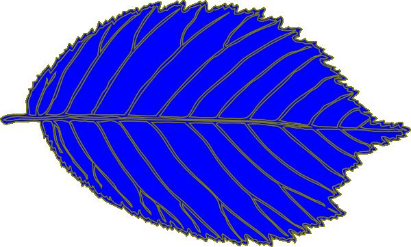 on leaf blue - photo #29
