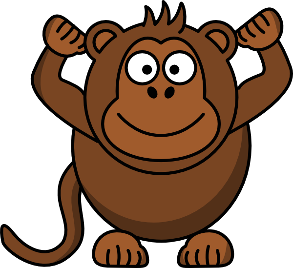 clipart image of monkey - photo #11