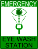 Emergency Eye Wash Station Clip Art