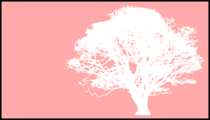 Tree, White, Pink Background Clip Art