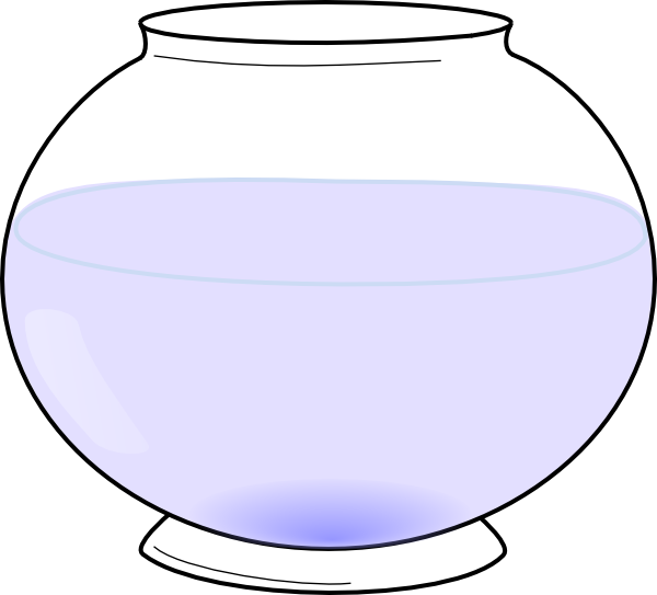Empty Fish Bowl Coloring Page http://www.clker.com/clipart-fishbowl.html