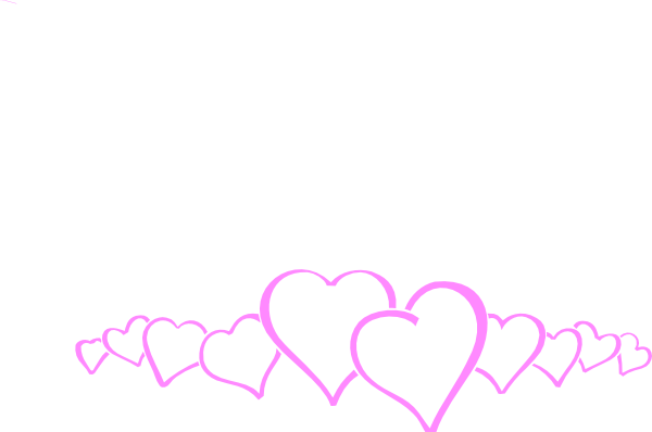 Heart Pink Clip Art at Clker.com - vector clip art online, royalty ...