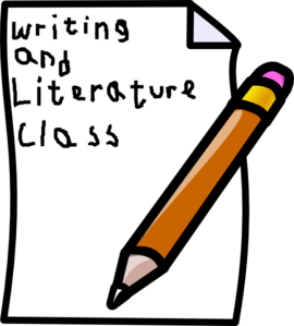 Writing Class Cover Clip Art