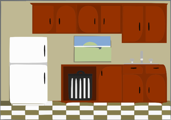 kitchen clip art at vector clip art online royalty free